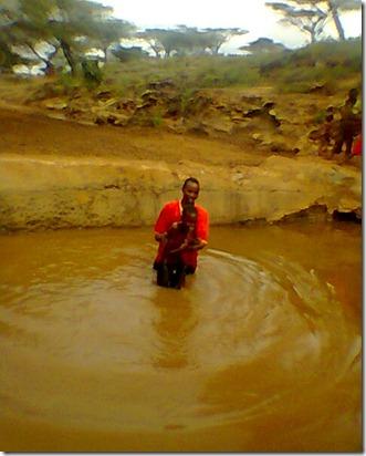 Baragoi Baptism