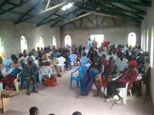 Baragoi Baptist Church Dedication