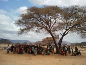 Laisamis Church in Northern Kenya